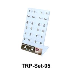 24 Silver Tragus Piercing Set TRP-Set-05