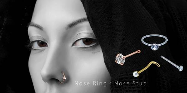 Nose Studs- Straight, Bone or Curved?